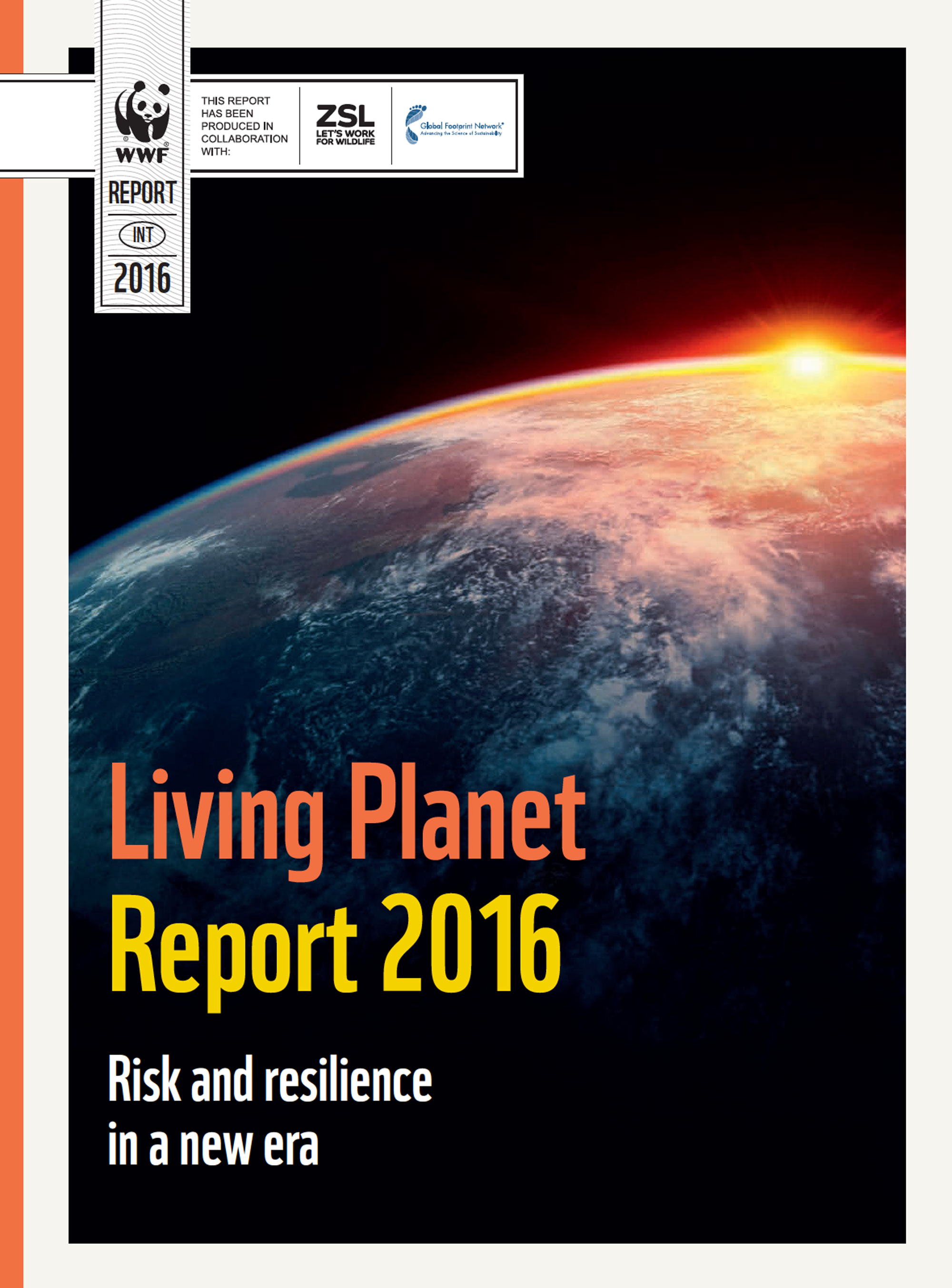 WWF's biennial Living  Planet Report is the most influential and important science-based analysis on the health of the planet and the impact of human activity.