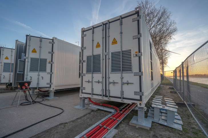 Dutch battery storage