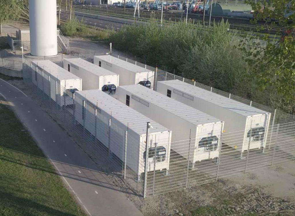 wind farm battery